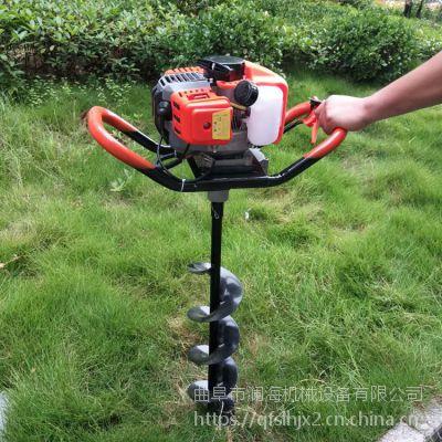 大功率打桩挖坑机 小型农用打洞地钻机 小型植树钻坑机