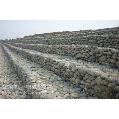 锌铝合金石笼堤坝防冲网 低碳镀锌石笼网厂家