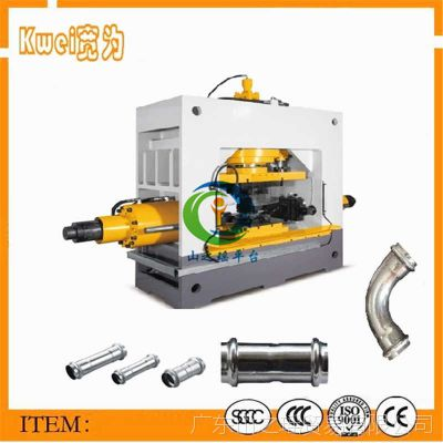 定制三通管内高压成型机 500吨快速液压机 精密异径三通管水涨机