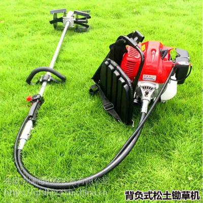 二冲程手持式割草机葡萄园茶园汽油松土机 开沟除草机