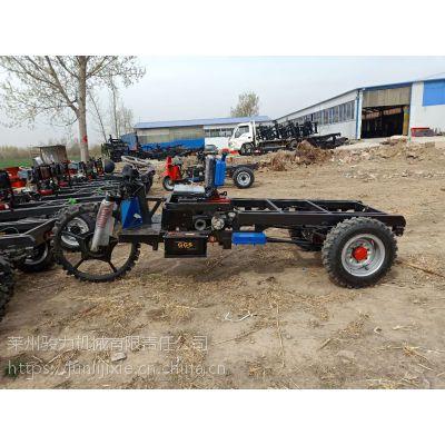 定制三轮车2吨柴油三轮车车架制作