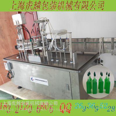 四泵八头变频灌装机,常压变频液体灌装机