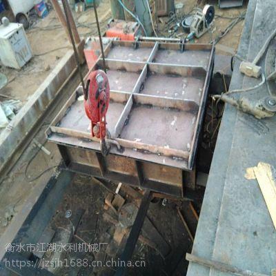 贵州启闭机 厂家供应 2米*2米方形玻璃钢拍门 山东渠道专用 DN2000碳钢拍门