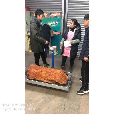三百多年历史传承烤大猪美食碳烤工艺