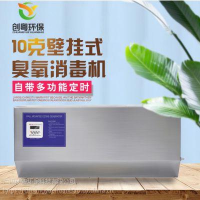 大量供应创粤CYA-10g壁挂式臭氧发生器 食品厂车间臭氧消毒机 十万级无菌车间杀菌机