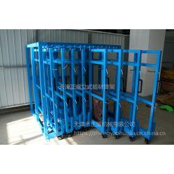 湖南铝板存放架 立式板材货架承重 激光切割车间用货架