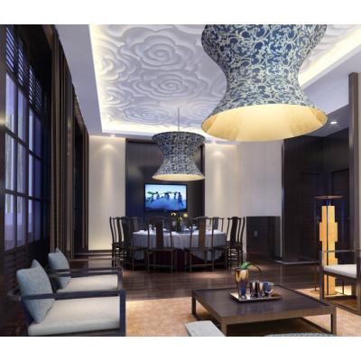 济南雕刻定制家居板异型天花造型板装饰板镂空板