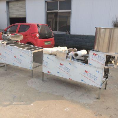 山东圣昱厂家直销仿手工豆腐皮机的生产视频不锈钢小型豆腐皮机操作流程