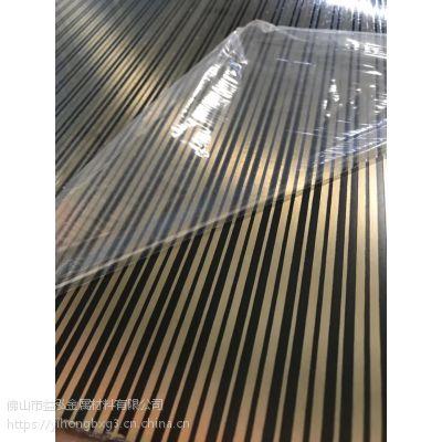 益泓厂家供应304不锈钢蚀刻木纹 不锈钢蚀刻板销售 彩色不锈钢蚀刻板