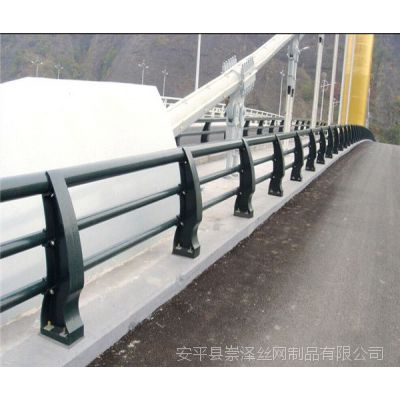 人行道防撞护栏 河道桥梁安全围栏 沿河景观护栏 桥梁护栏厂家