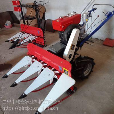 大豆割晒机 手扶式牧草芦苇割晒机 药材收割晾晒机