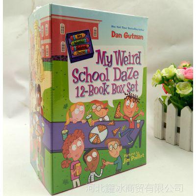 英文原版 My Weird School 疯狂学校第二季 美国小学初级章节童书
