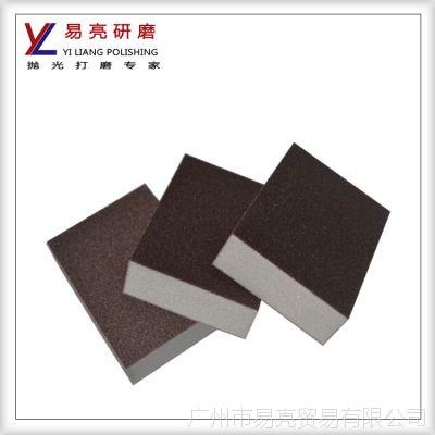 供应原装进口海绵砂砖 打磨砂块 方形海棉砂砖 海绵砂海棉砂