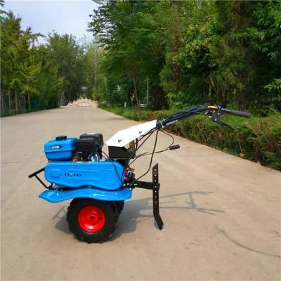 多效小型田园管理型旋耕机 6马力柴油手扶旋耕机效率高