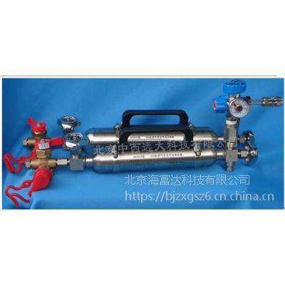 中西 燃气汽车加气站专用采样器 304材料 2500 ML 库号:M19900