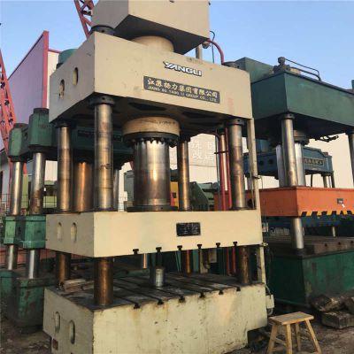 供应二手三梁四柱油压机,630t精密四柱液压机