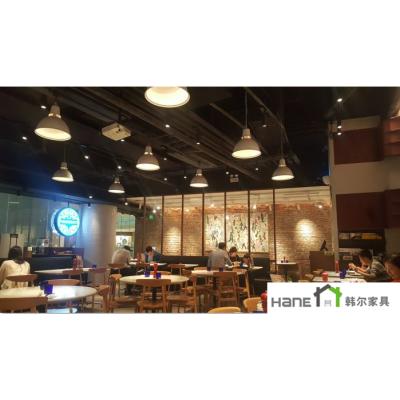 厂家供应玛尚诺西餐厅实木桌子 实木椅子定制 上海韩尔北欧风格