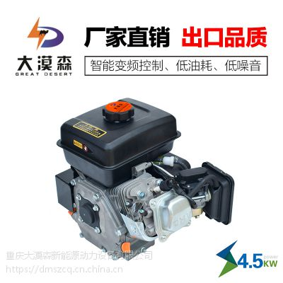 大漠森电动车增程器4500w一体式汽油发电机智能变频厂家直销