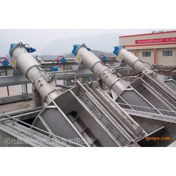 ZG型转鼓式格栅除污机的结构工作原理