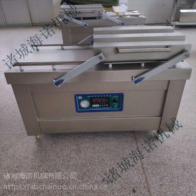 海诺供应 双室内抽真空包装机 休闲食品真空包装机