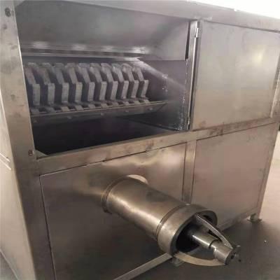 大型食品冻板破碎设备 冻鱼盘切块机厂家直销