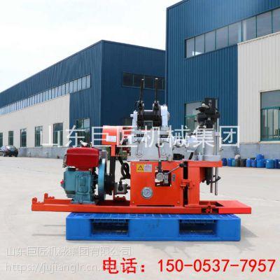 华夏巨匠YQZ-30轻便液压水钻岩心钻机替代山地钻机75孔30米钻机