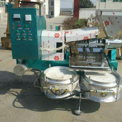 供应大型螺旋榨油机 东北大豆榨油机 山东液压榨油机星都机械