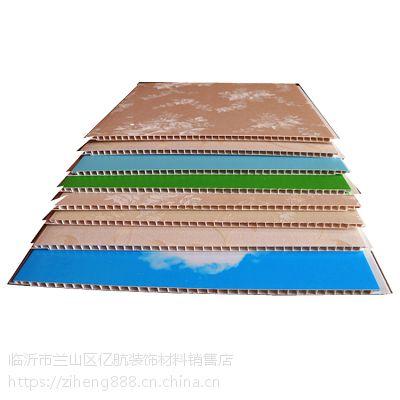 塑钢石塑300平缝V缝平面护墙板扣板天花吊顶厂家直销环保防霉阻燃