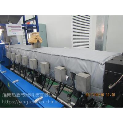 可拆卸式挤出机保温套,淄博热盾,厂家直销,节电效果优良,可拆卸