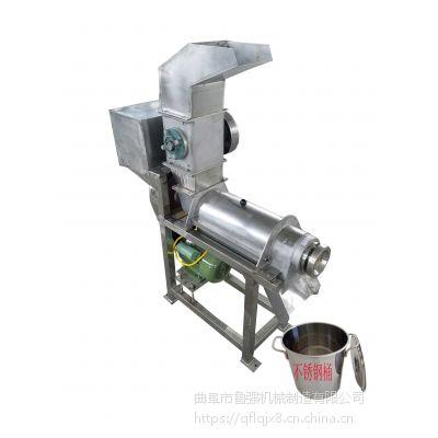 果酱加工机器 1吨带破碎橙子橘子压榨机 自动打浆机设备 鲁强机械