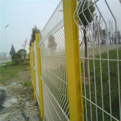 桃型柱护栏网 框架围栏网 隔离铁丝围网
