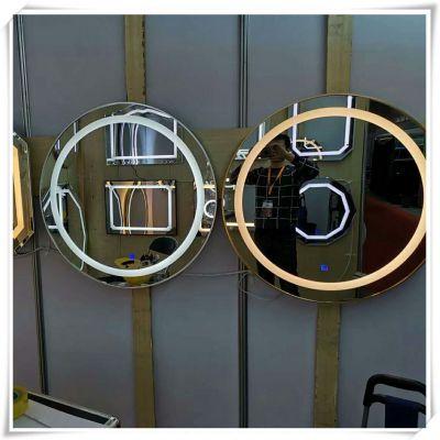 无框壁挂带触摸开关智能防雾led背光灯镜卫生间厕所化妆镜衣柜镜