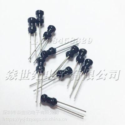 供应4x6风华PK0406-150K直插工字电感4*6MM 15UH 100MA差模绕线电感
