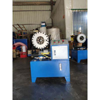 不锈钢管缩管机 大棚管缩管机时捷机械
