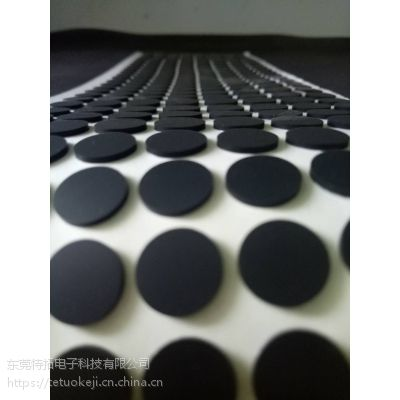 东莞厂家直销黑色背景硅胶防震垫 耐磨垫 阻燃硅胶垫