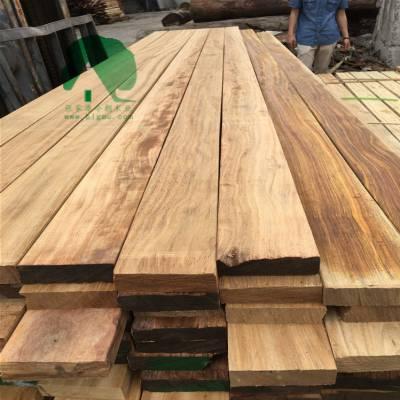 菠萝格木材|菠萝格圆柱|菠萝格户外地板