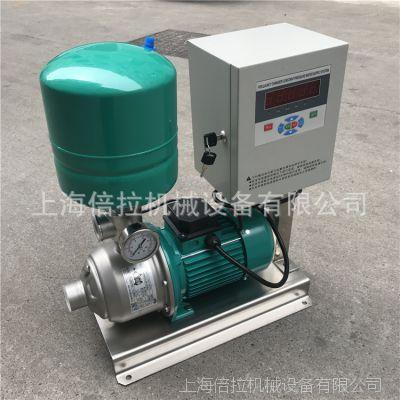 威乐变频泵MHI404不锈钢定压补水设备WILO无负压变频供水设备750W