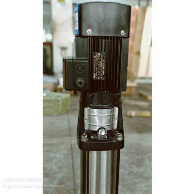 冲压泵系列选型书50CDLF18-50安装图多级泵尺寸