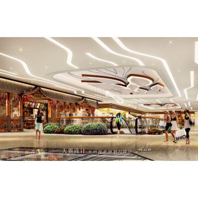 南宁商业街设计方案打造首先要定位清晰-广东天霸设计建议