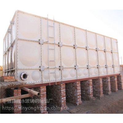 泽州县玻璃钢水箱 普通住宅屋顶温水箱 食品环保水箱