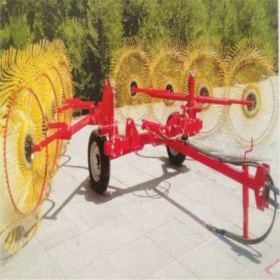 牵引式搂草机 四轮车秸秆回收机 大型搂玉米秸秆铁耙子