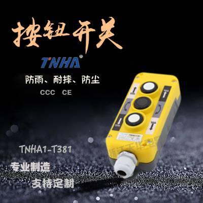 T371 T381 3孔悬挂盒,3孔操作盒,磁性开关盒,液压尾板控制盒,