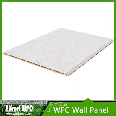 比菲尔德竹木纤维600平缝V缝平面护墙板扣板天花吊顶厂家直销环保防霉阻燃