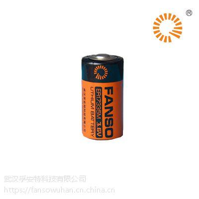 智能烟感锂电池 ER17335M 3.6V孚安特一次性锂电池