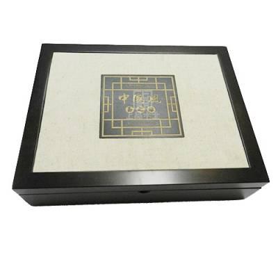 工艺品包装木盒,智合-木制工艺品盒制造商-烫金木制工艺品盒