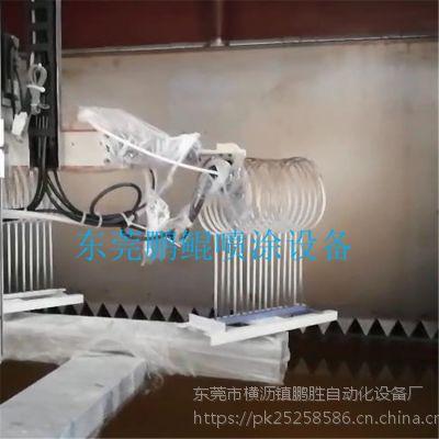 球拍静电喷漆设备 球拍静电喷涂机 浙江鹏鲲厂家免费试喷打样