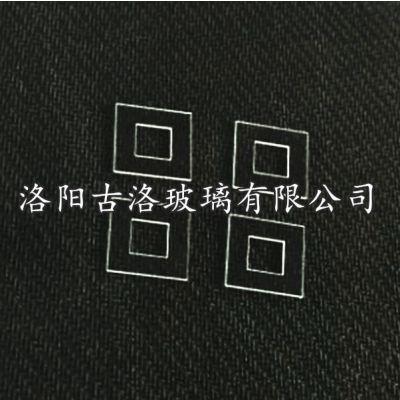 厂家直供硼硅钢化玻璃 CNC精准磨边抛光 激光微孔打孔玻璃深加工
