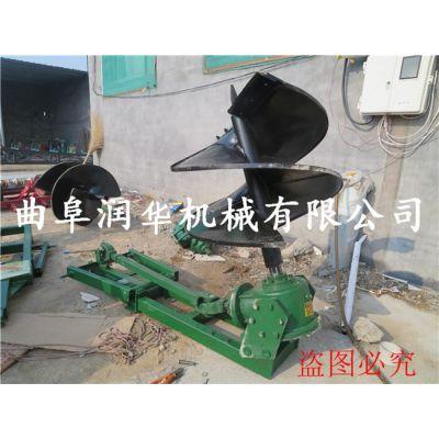 手提小型挖坑机 大棚立桩打孔机 建筑工地打眼机