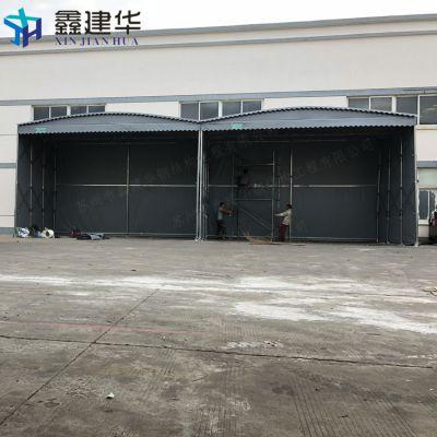 吴江盛泽镇电动车遮阳伞雨蓬 可拆卸活动雨棚布 工厂大型雨篷后围做固定