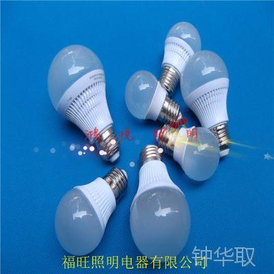 广州LED球泡灯现货2w3w5wLED灯泡厂家直销